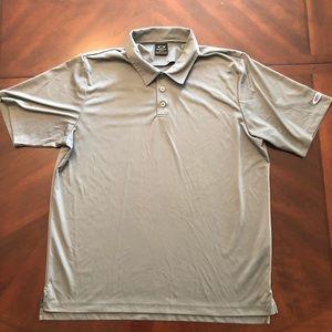 Oakley Gray Golf Shirt Men's XL